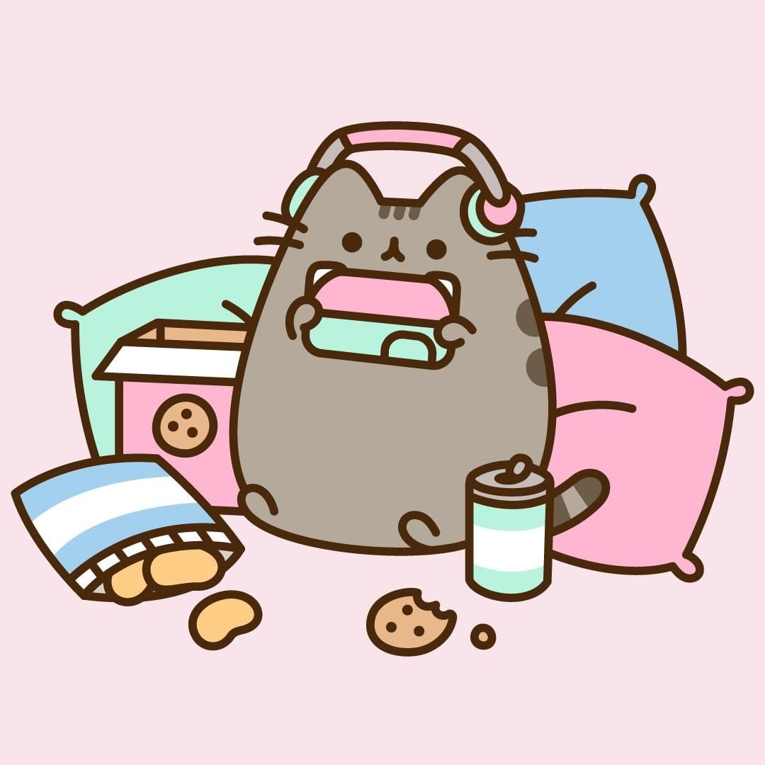 Cat Lover Aesthetic - Pusheen art