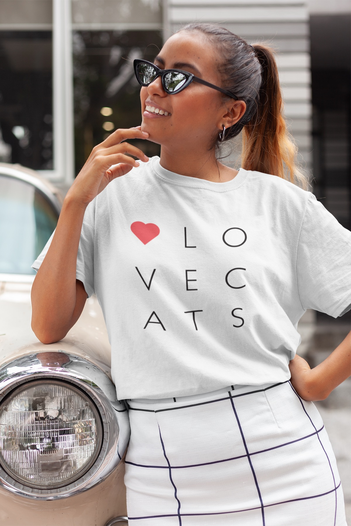 Cat T-Shirts For Women - I Love Cats