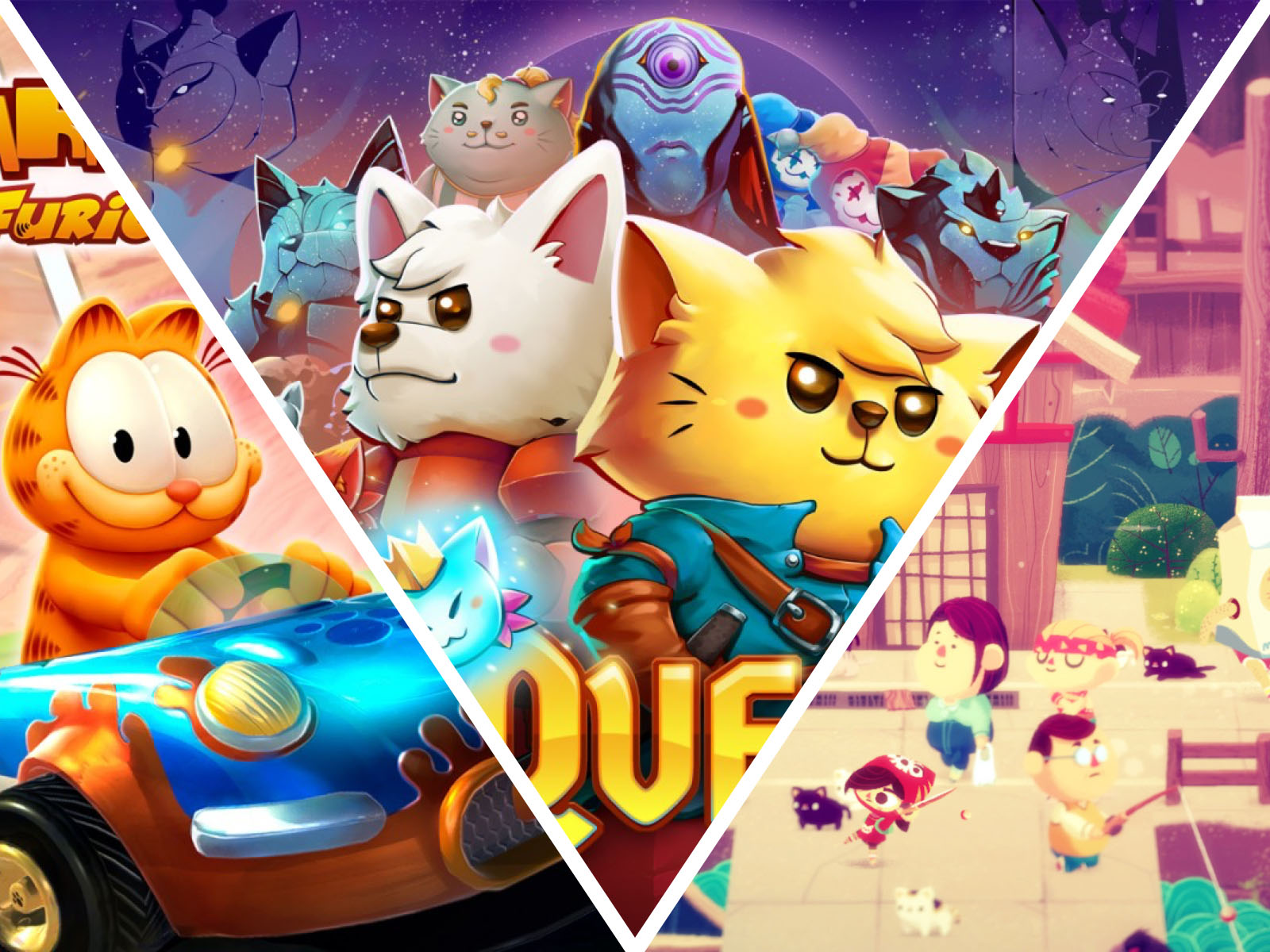 7 Adorable Video Games About Cats