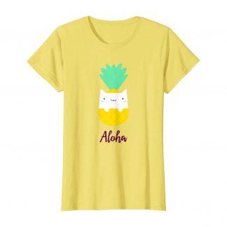 Pineapple Cat Aloha