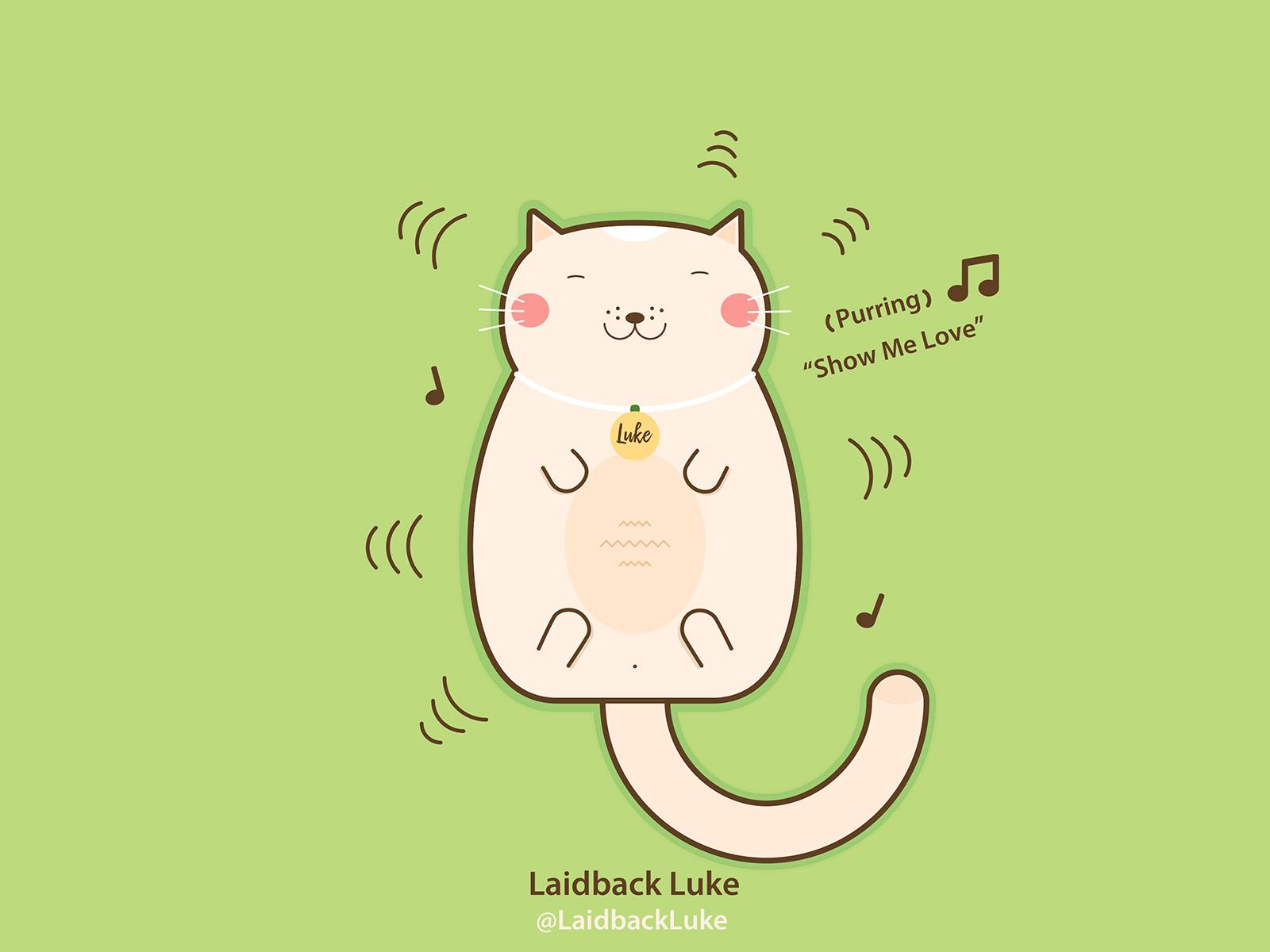 Laidback Luke as a cat fan art