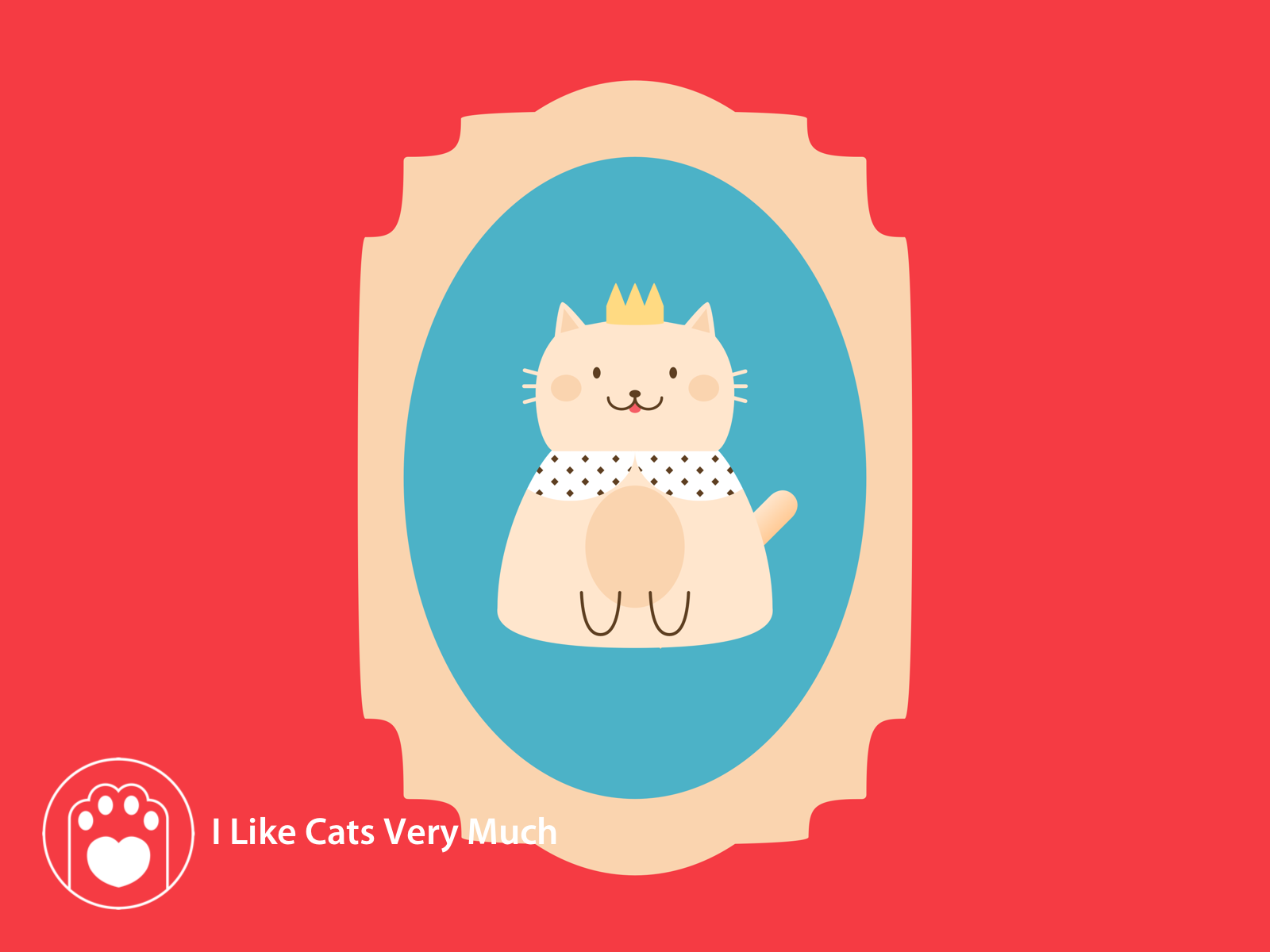 Cattitude Cute Cat Art